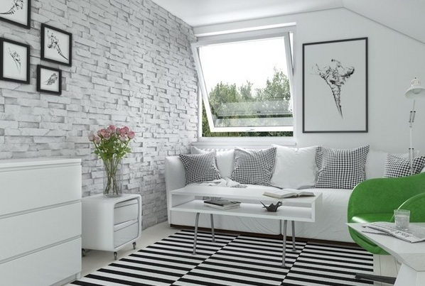 Simple wall decorations for living room with black and for Living room framed art
