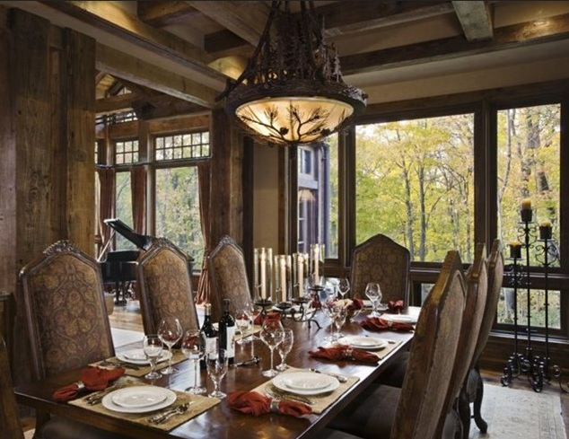 Vintage Dining Room Lighting Ideas Wih Beautiful Light Shades