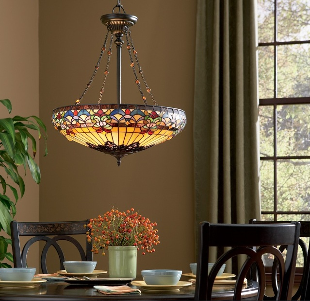 Vintage dining room lighting ideas wih vintage bronze for Dining room pendant lights