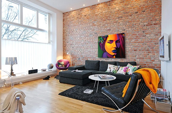 Contemporary Wall Decorations For Living Room With Metal