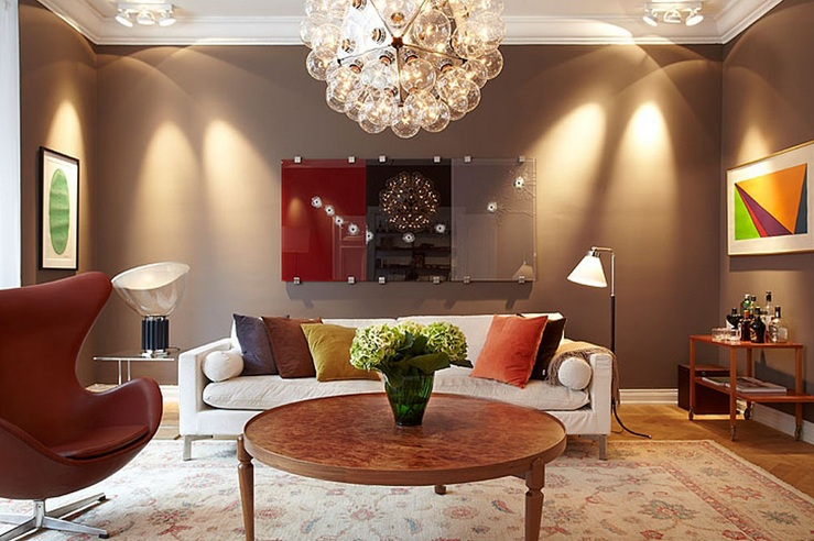 Brown Living Room Decorating Ideas for Classy yet Inviting