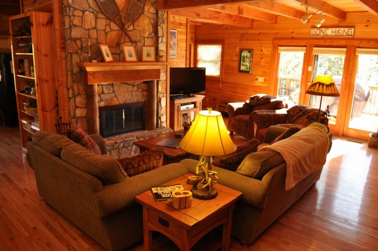 Brown Living Room Decorating Ideas With Country Style Part 69