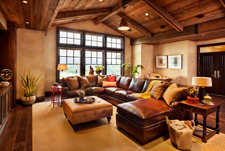 Brown living room decorating ideas with vintage style | Decolover.net