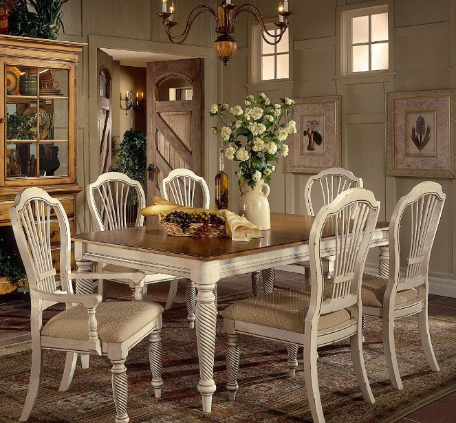 Country Dining Room Decor country dining room designs decor with white blue furniture color