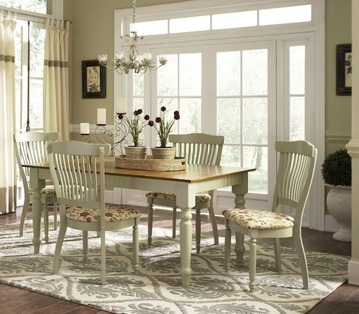 Country dining room decor with country decor accessories for Country dining room ideas