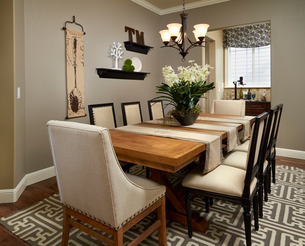 Country dining room decor for Country dining room ideas