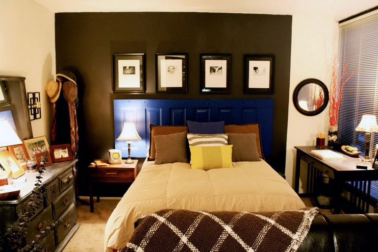 Decorating ideas for small bedrooms with orange wall color. Decorating ideas small bedrooms