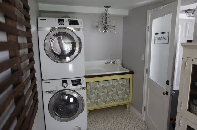 decorative laundry room sink ideas. Black Bedroom Furniture Sets. Home Design Ideas