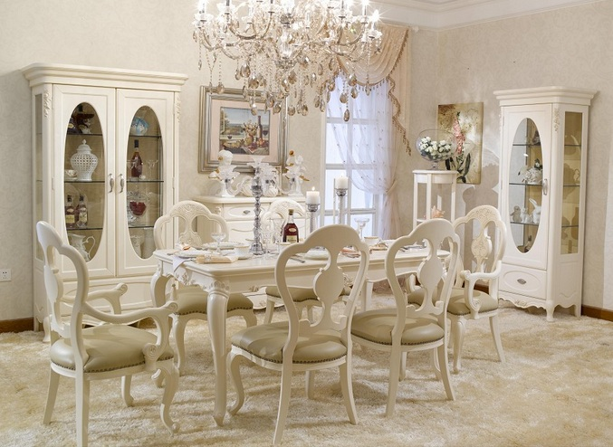 French Provincial Dining Room Furniture Ideas For Your Theme
