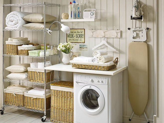 laundry room decorating accessories for a tidy laundry room Laundry Room Accessories