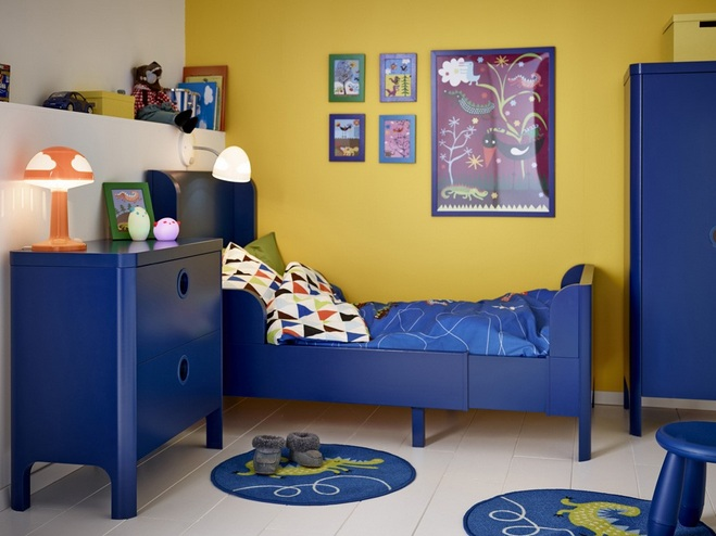 Paint color schemes for boys bedroom Makes the Tone of the Room ...