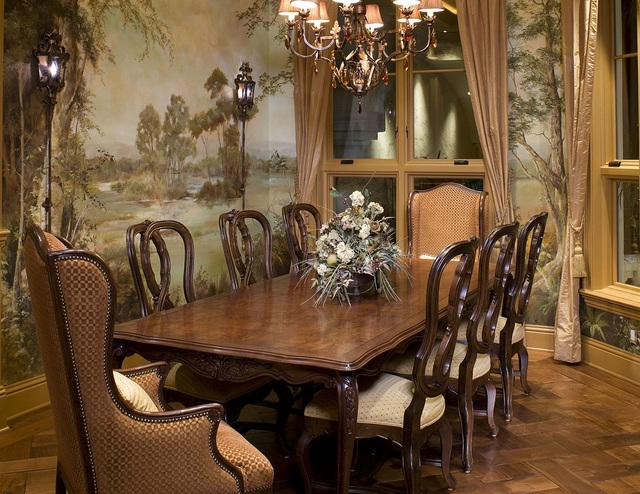 Small formal dining room ideas to make it look great for Antique dining room ideas