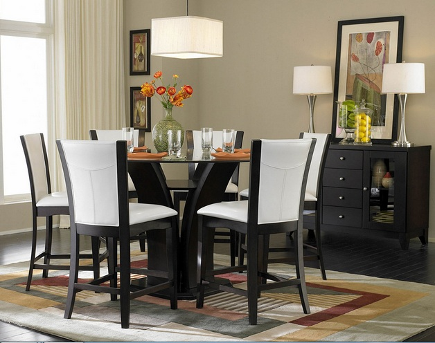 Small formal dining room ideas to make it look great for Small formal dining room