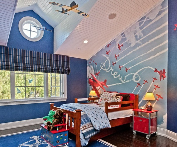 . Toddler room ideas for boys with airplane room decor   Decolover net