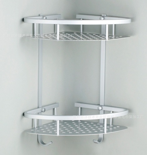 Decorative bathroom shelves with wood standing corner - Free standing corner bathroom shelves ...