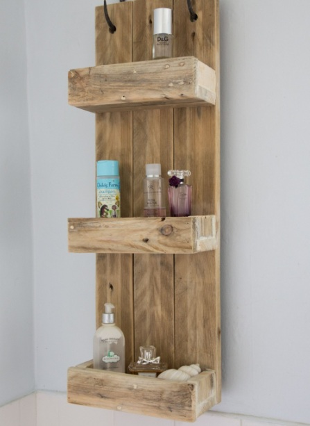 Decorative Wall Shelves For Bathroom : Decorative bathroom shelves wall