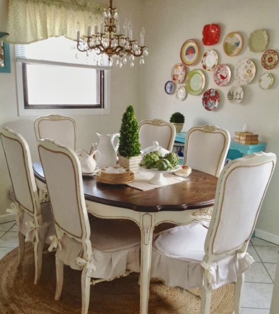 Decorative Plates Wall Art For Dining Room Ideas