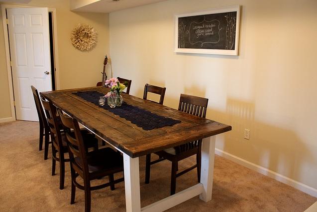 Best Farmhouse Style Dining Room Table Photos   Room Design Ideas .