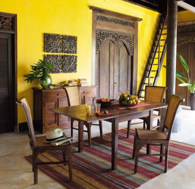 Elegant With Yellow Dining Room Paint Colors
