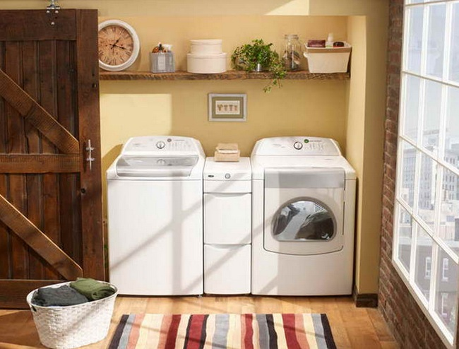 Vintage laundry room decor ideas to freshen up your rooms for Laundry room decor accessories