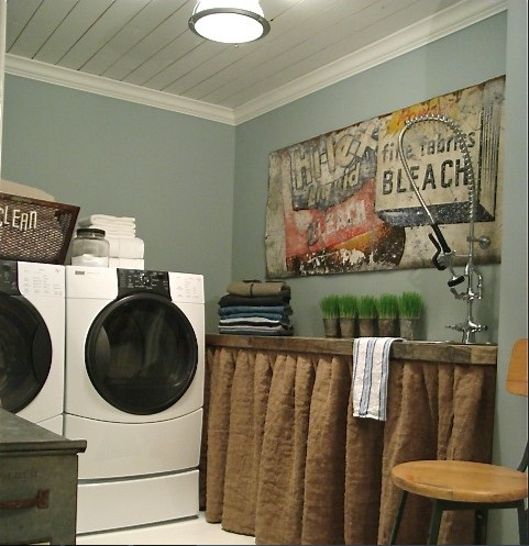 Vintage Laundry Room Accessories Best Vintage Laundry Room Decor With Vintage Furniture And Paint Design Decoration
