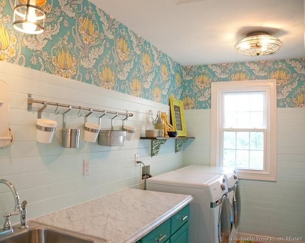 Wallpaper Border Decor For Laundry Room Decolover Net