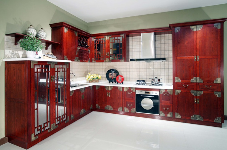 Home decorating ideas for Chinese kitchen cabinets