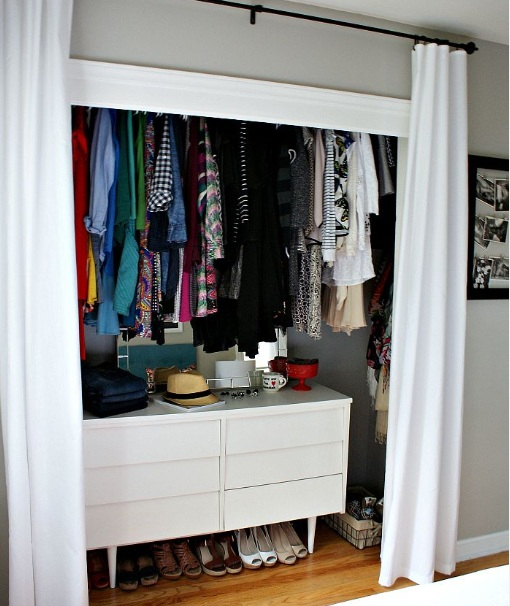 Dresser Inside Closet Ideas For Small Bedrooms