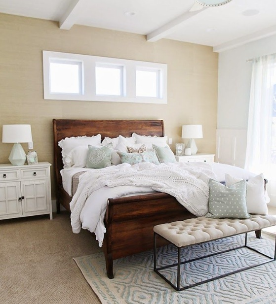 Farmhouse style bedroom with minimalist decor concepts for Farmhouse style bedroom