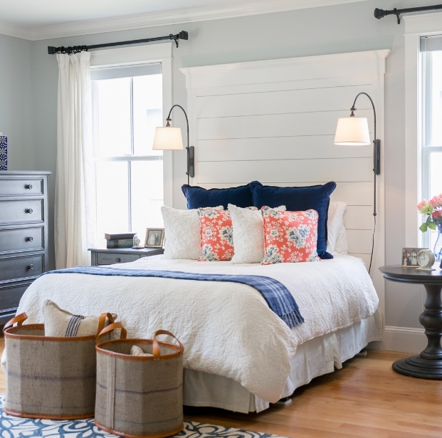 Top ten elegant farmhouse style bedroom for Farmhouse style bedroom