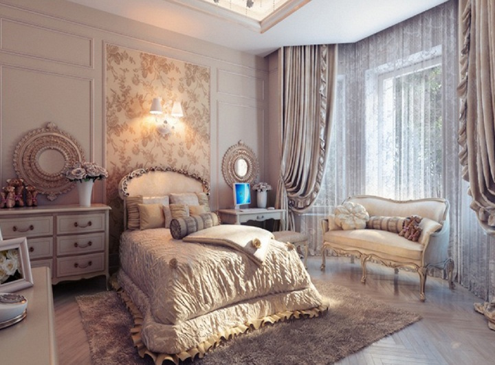 Floral vintage bedroom ideas with floral wallpaper and other related images  gallery. Floral vintage bedroom ideas with floral wallpaper   Decolover net