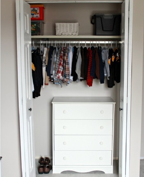 small dresser inside closet ideas for small bedrooms | decolover