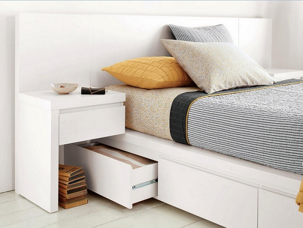 Under bed drawers as dresser ideas for small bedrooms ...