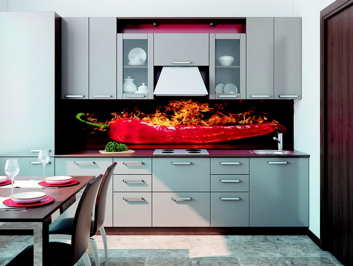 Hot Chili Pepper Kitchen Decor