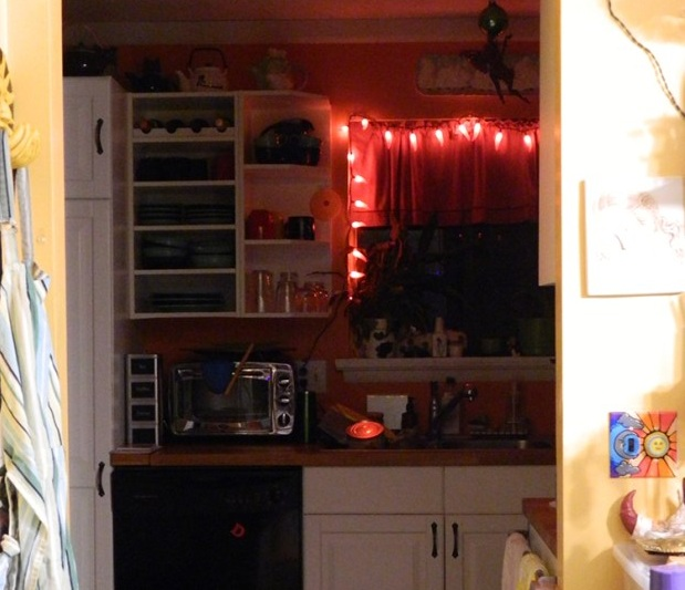 Red Chili Pepper Kitchen Accessories Room Image And