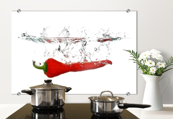 Chili Pepper Kitchen Decorating Themes With Red Wall Color And Other  Related Images Gallery: