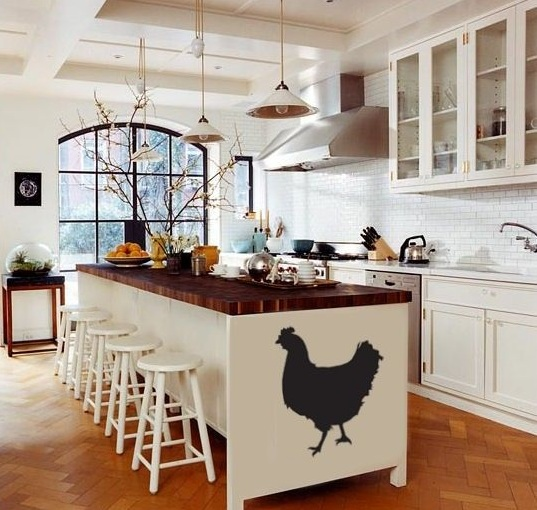 Farm animal kitchen decor with farm animal stickers - Decolover net