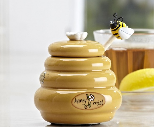 Honey Bee Kitchen Decor With Cookie Jar