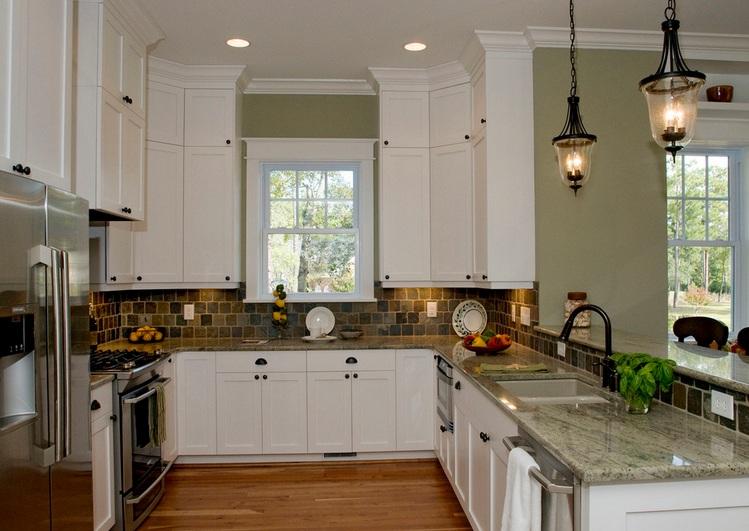 Kitchen Bulkhead Decorating Ideas With Trims Molding