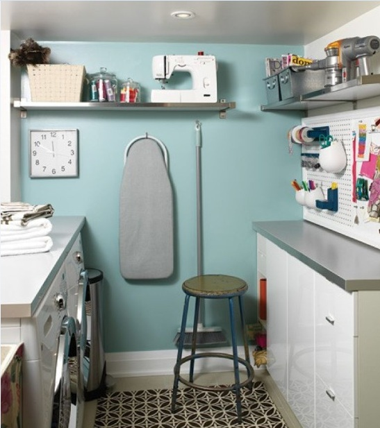 Best Paint Color For Small Laundry Room