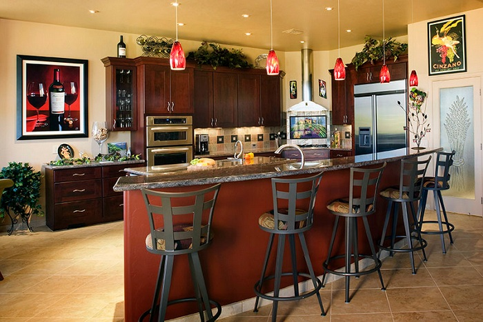 Home decorating ideas for Wine themed kitchen ideas