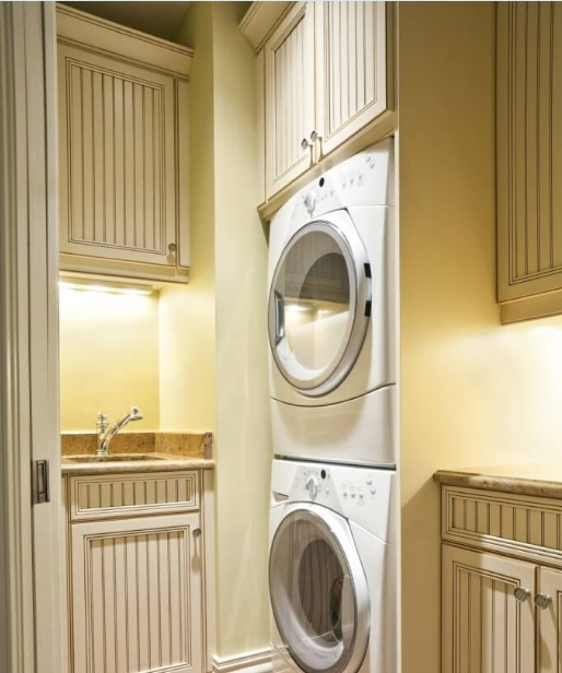 White Best Paint Color For Small Laundry Room Decolover Net