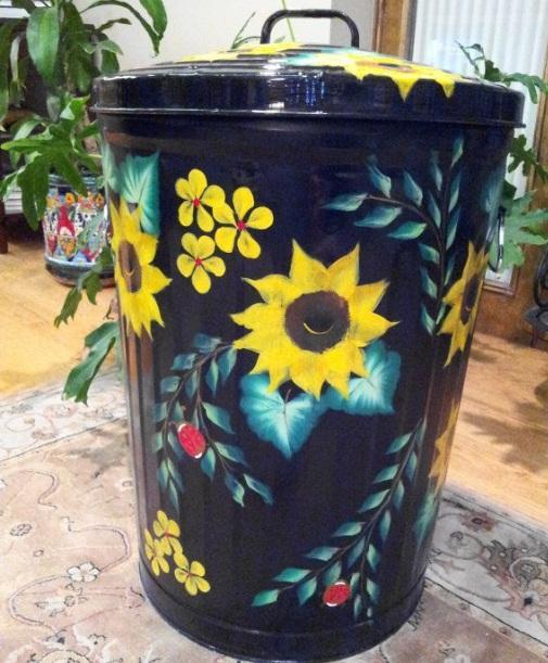 Sunflower Laundry Room Decor