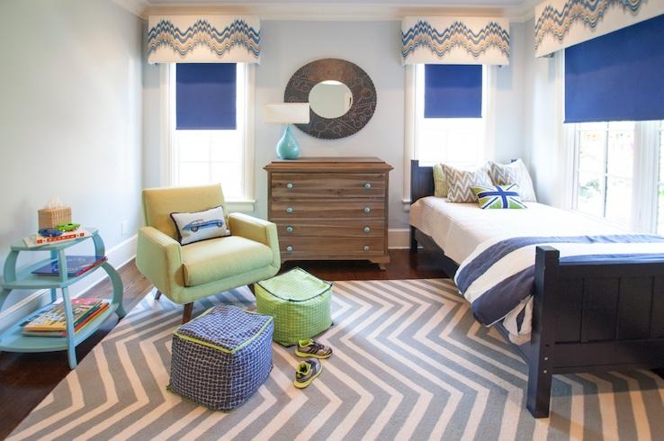 Chevron bedroom decor with chevron bedding set | Decolover.net