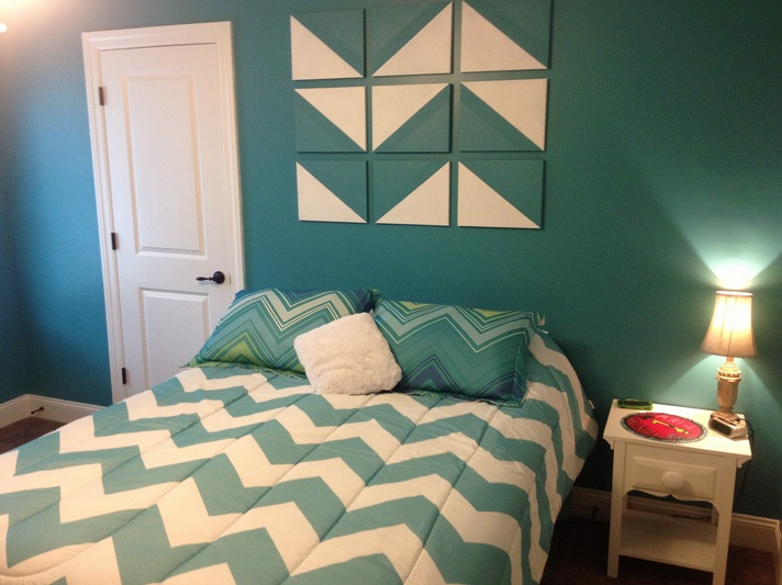 Chevron Bedroom Decor Ideas