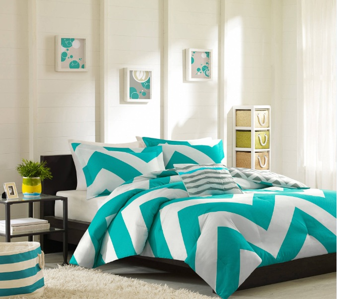 As You Can See, Itu0027snot Difficult To Pull Simple But Chic Chevron Bedroom  Decor, Is It?