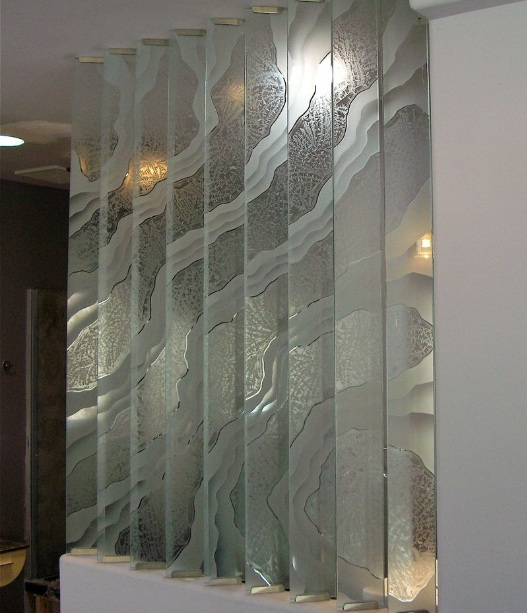 decorative glass panels the various types and unique