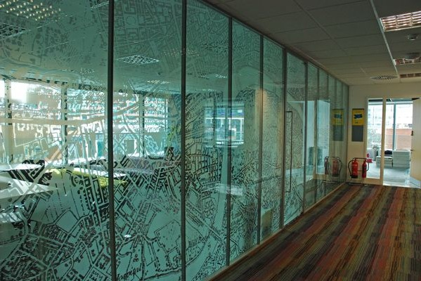 Decorative Glass Panels With Nice Installation