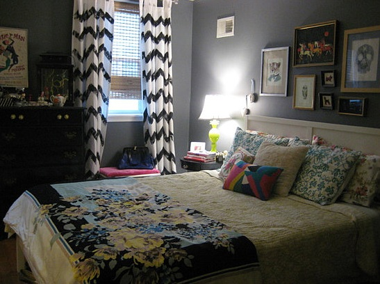 Chevron Bedroom Decor: How to Manage the Great Look | Decolover.net
