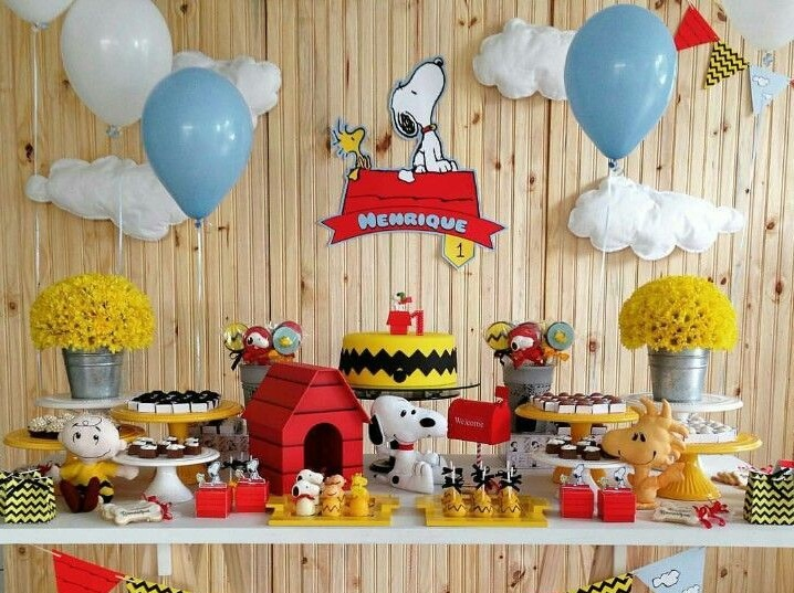 Snoopy Baby Shower Decorations Ideas